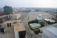 1996 July 24..Redevelopment..Macarthur Center.Downtown North (R-8)..LOOKING NORTH FROM ROOF OF MAIN STREET TOWER.SIMILAR PV3...NEG#.NRHA#..
