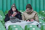 11.02.2018, Weserstadion, Bremen, GER, 1.FBL, SV Werder Bremen vs VfL Wolfsburg<br /> <br /> im Bild<br /> Fans auf Trib&uuml;ne, <br /> <br /> Foto &copy; nordphoto / Ewert