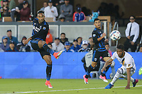 San Jose, CA - Saturday May 27, 2017: Danny Hoesen during a Major League Soccer (MLS) match between the San Jose Earthquakes and the Los Angeles Galaxy at Avaya Stadium.