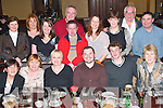 Leaving: Enjoying a great night at his farewell party from Heimbach Ireland at The Grand Hotel, Tralee, on Friday evening was Andrew Conway of Caherslee (seated fourth from left), along with work colleagues. Front l-r: Marguerita Defrein, Maureen Williams, Joanne Prendergast, Andrew Conway, Gerard Pierce and Anne Myers. Back l-r Nuala Corbett, Catherine OReilly, Miriam De Regibus, John OBrien, Michael Mulquinn, Alex Buhl, Margo OConnor, Martin Hartnett and Moss Leen..