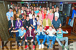 Jonathan Culloty, Tralee celebrating his 21st Birthday with family and friends at the Abbey Inn on Saturday