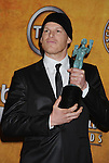 LOS ANGELES, CA. - January 23: Michael C. Hall  poses in the press room at the 16th Annual Screen Actors Guild Awards held at The Shrine Auditorium on January 23, 2010 in Los Angeles, California.