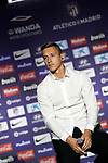 Atletico de Madrid's new player Ivan Saponjic during his official presentation. July 12, 2019. (ALTERPHOTOS/Acero)
