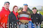 Enjoying all the Action at the Rally of the Lakes last Saturday morning near Kilgobnet were L-R Alan O'Halloran(Ballyheigue)Sarah&Brendan Shanahan with Steven O'Connell all Abbeydorney..---------------------------------------------