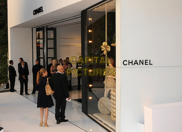 ATMOSPHERE .CHANEL Unveils New Boutique on Robertson Boulevard, Los Angeles, California, USA..May 29th, 2008.gv g.v. general view shop store mannequin .CAP/ADM/BP.©Byron Purvis/AdMedia/Capital Pictures.
