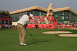 Martin Kaymer plays his 3rd shot on the 18th hole during the Final Day Sunday of the Abu Dhabi HSBC Golf Championship, 23rd January 2011..(Picture Eoin Clarke/www.golffile.ie)