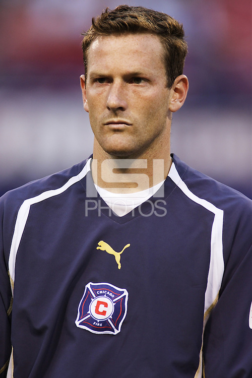 The Chicago Fire's goalkeeper Henry Ring during pregame introductions. The Chicago Fire played the NY/NJ MetroStars to a one all tie at Giant's Stadium, East Rutherford, NJ, on May 15, 2004.