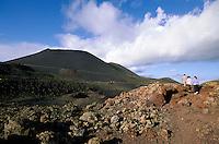 Spanien, Kanarische Inseln, La Palma, Der Vulkan Teneguia