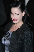 DITA VON TEESE 2006<br /> Marc Jacobs Fashion Show at the Armory<br /> Photo By John Barrett/PHOTOlink.net