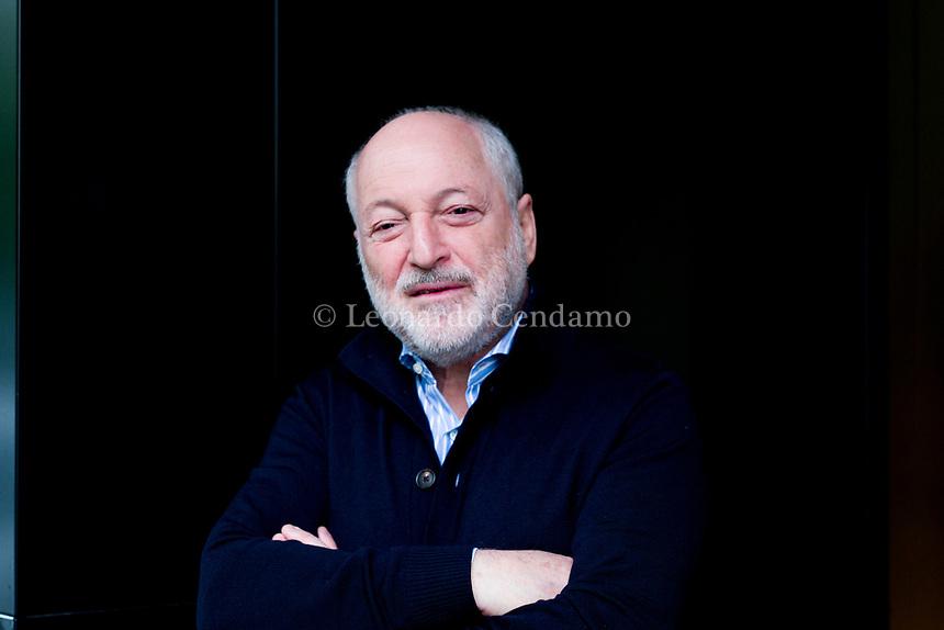 André Aciman, è uno scrittore americano. © Leonardo Cendamo