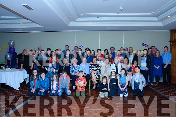 Breda Foran celebrated her 50th Birthday with family and friends at The Meadowlands Hotel on Saturday evening.