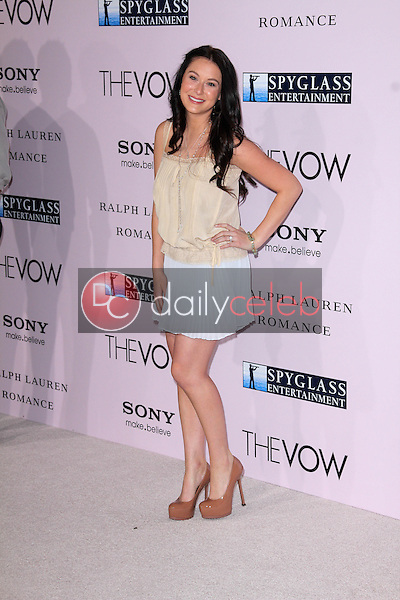 """Alexa Vega<br /> at """"The Vow"""" World Premiere, Chinese Theater, Hollywood, CA 02-06-12<br /> David Edwards/DailyCeleb.com 818-249-4998"""