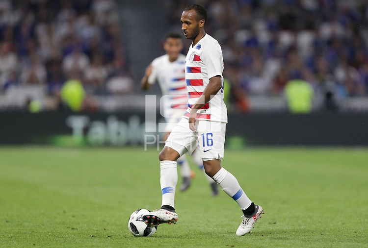 Lyon, France - Saturday June 09, 2018: Julian Green during an international friendly match between the men's national teams of the United States (USA) and France (FRA) at Groupama Stadium.