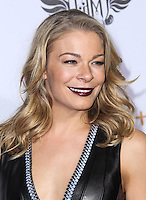 HOLLYWOOD, CA - JANUARY 23: Singer LeAnn Rimes arrives at the 3rd Annual will.i.am TRANS4M Benefit Concert held at Avalon on January 23, 2014 in Hollywood, California. (Photo by Xavier Collin/Celebrity Monitor)