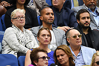 FLUSHING NY- SEPTEMBER 09: Sydney James Harcourt is sighted watching Madison Keys Vs. Sloane Stephens Stephens defeats Keys in straight sets 6-3, 6-0 during the Womens finals on Arthur Ashe Stadium at the US Open in the USTA Billie Jean King National Tennis Center on September 9, 2017 in Flushing Queens. <br /> CAP/MPI04<br /> &copy;MPI04/Capital Pictures