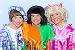 Shona Murphy, Colm Clifford, and Irene Kavanagh all dressed up for the Robin Hood panto in Killorglin CYMS on Sunday
