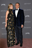 Bob Iger &amp; Willow Bay at the 2017 LACMA Art+Film Gala at the Los Angeles County Museum of Art, Los Angeles, USA 04 Nov. 2017<br /> Picture: Paul Smith/Featureflash/SilverHub 0208 004 5359 sales@silverhubmedia.com