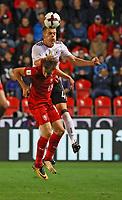 Matthias Ginter (Deutschland Germany) gegen Jan Kopic (Tschechische Republik) - 01.09.2017: Tschechische Republik vs. Deutschland, Eden Arena