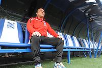 VOETBAL: HEERENVEEN: Abe Lenstra Stadion 28-11-2014, SC Heerenveen, assistent trainer Johnny Jansen, ©foto Martin de Jong