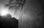 Warsaw 2010 Poland. The Warsaw Ghetto was established for the Jewish population of Warsaw by Germans during their II Word War occupation of Poland. It existed from  October 2,1940 until May 16, 1943. There are very few remnants left of the Ghetto. It covered today's city quarters of Muranow, Nowolipki, Mirow, Nowe Miasto and part of Center Warsaw. Umschlagplatz..photo Maciej Jeziorek/Napo Images.Warszawa 2010 Polska. Getto warszawskie za?ozone dla ludno?ci zydowskiej przez okupacyjne w?adze niemieckie istnialo na terenie Warszawy od 2 pa?dziernika 1940  do 16 maja 1943. Nie pozostaly po nim w zasadzie zadne fizyczne slady. Dzis to tereny  m.in. Muranowa, Nowolipek, Mirowa, Nowego Miasta i czesc scislego centrum Warszawy. Umschlagplatz. fot. Maciej Jeziorek/Napo Images