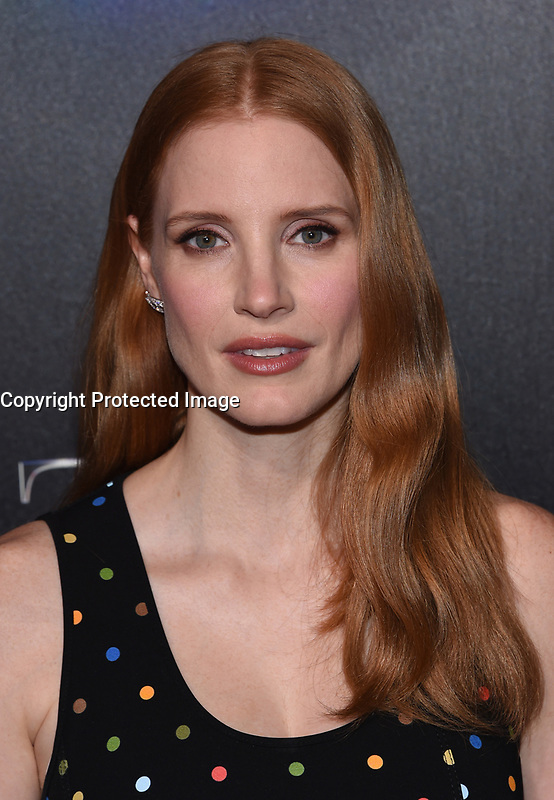 Jessica Chastain @ the photocall for STX Films 'The State of the Industry: Past, Present and Future' held @ The Colosseum at Caesars Palace.<br /> March 28, 2017 , Las Vegas, USA. # CINEMA CON 2017 - PHOTOCALL 'THE STATE OF THE INDUSTRY'