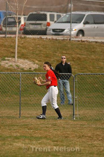 Trent Nelson     The Salt Lake Tribune.Springville - Springville vs. Bingham high school softball Thursday, March 18, 2010. fans