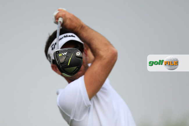 Guess Who? Eduardo De La Riva (ESP) on the 6th tee during Round 4 of the Abu Dhabi HSBC Championship on Sunday 22nd January 2017.<br /> Picture:  Thos Caffrey / Golffile<br /> <br /> All photo usage must carry mandatory copyright credit     (&copy; Golffile | Thos Caffrey)