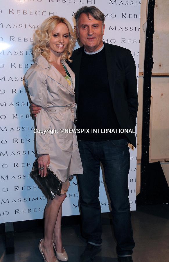 "MASSIMO REBECCHI AND JUSTINE MATTERA.Autumn 2010/2011 Collection, Milan Fashion Show, Milano_28/02/2010.Mandatory Credit Photo: ©NEWSPIX INTERNATIONAL..**ALL FEES PAYABLE TO: ""NEWSPIX INTERNATIONAL""**..IMMEDIATE CONFIRMATION OF USAGE REQUIRED:.Newspix International, 31 Chinnery Hill, Bishop's Stortford, ENGLAND CM23 3PS.Tel:+441279 324672  ; Fax: +441279656877.Mobile:  07775681153.e-mail: info@newspixinternational.co.uk"