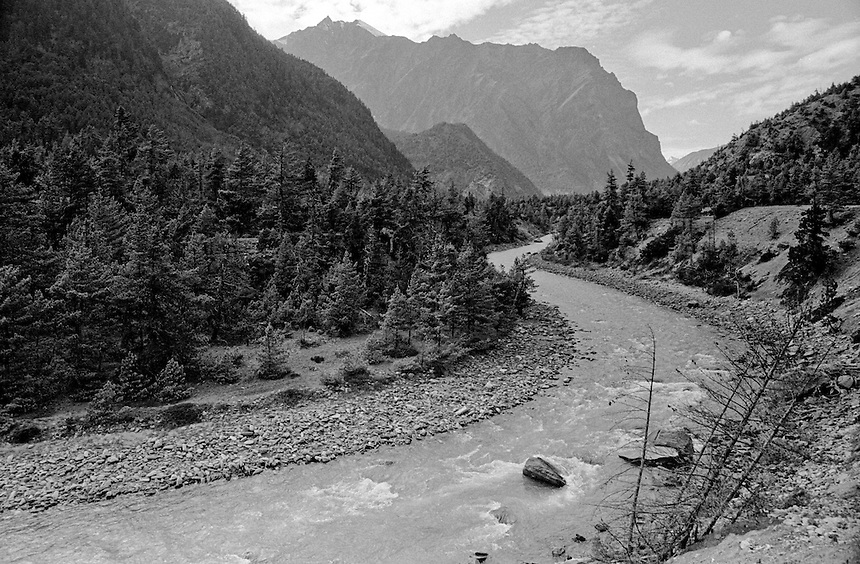 The Manang Valley, Nepal, 2008. Photo: Ed Giles.