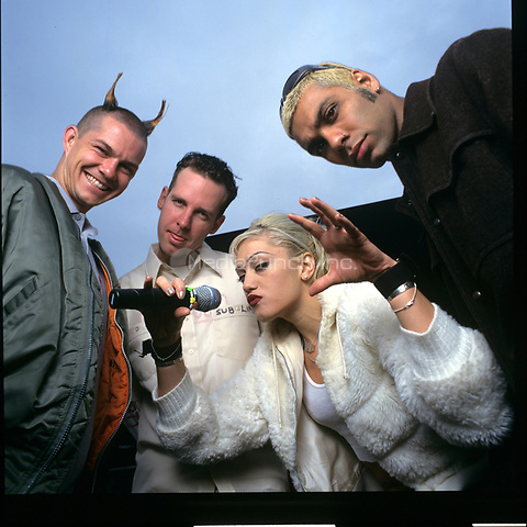 No Doubt portraits photographed in Tindley Park, Illinois.<br /> September 19, 1998<br /> &copy; Gene Ambo / MediaPunch **NO UK or Japan***