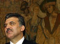 President of Turkey Abdullah Gul  - 03/11/2004.