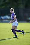 Taylor Romano (4) of the High Point Panthers during first half action against the Duke Blue Devils at Koskinen Stadium on September 11, 2016 in Durham, North Carolina.  The Blue Devils defeated the Panthers 4-1.   (Brian Westerholt/Sports On Film)