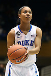 17 November 2013: Duke's Chloe Wells. The Duke University Blue Devils played the University of Alabama Crimson Tide at Cameron Indoor Stadium in Durham, North Carolina in a 2013-14 NCAA Division I Women's Basketball game. Duke won the game 92-57.