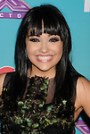 LOS ANGELES, CA - NOVEMBER 05: Jennel Garcia arrives at FOX's 'The X Factor' finalists party at The Bazaar at the SLS Hotel Beverly Hills on November 5, 2012 in Los Angeles, California.