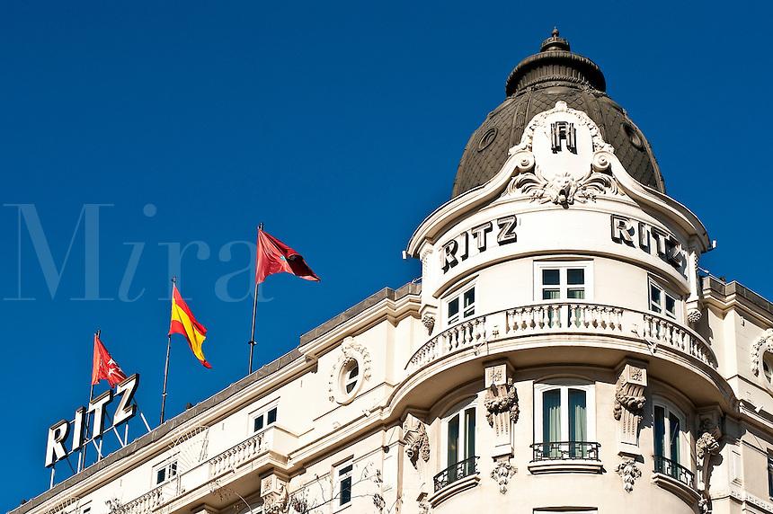 Ritz Hotel, Madrid, Spain