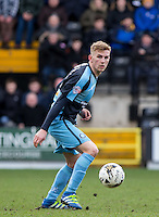 Jason McCarthy of Wycombe Wanderers during the Sky Bet League 2 match between Notts County and Wycombe Wanderers at Meadow Lane, Nottingham, England on 28 March 2016. Photo by Andy Rowland.