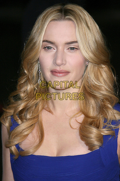 KATE WINSLET.18th Annual Palm Springs International Film Festival Hosts Star-Studded Awards Gala held at the Palm Springs Convention Center, Palm Springs, California, USA,.6 January 2007..portrait headshot blue dress.CAP/ADM/ZL.©Zach Lipp/Admedia/Capital Pictures