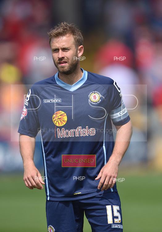 08/05/2016 Sky Bet League 1 Fleetwood Town v <br /> Crewe Alexandra<br /> David Fox