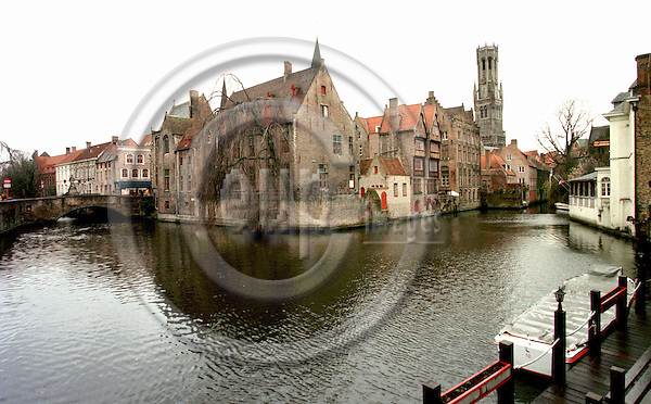 BRUGGE 1.3.1999--The city of canals..PHOTO: JUHA ROININEN.