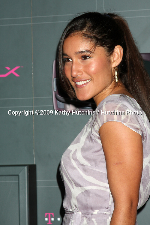 Q'orianka Kilcher  arriving at the  T-Mobile Sidekick LX Launch Event at  Paramount Studios in.in Los Angeles, CA on May 14, 2009 .©2009 Kathy Hutchins / Hutchins Photo...                .