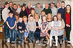 A surprise party was held last Friday night for Esther Lyons (centre) with family and friends at her mothers house in New Street Abbeyfeale to celebrated her 50th.