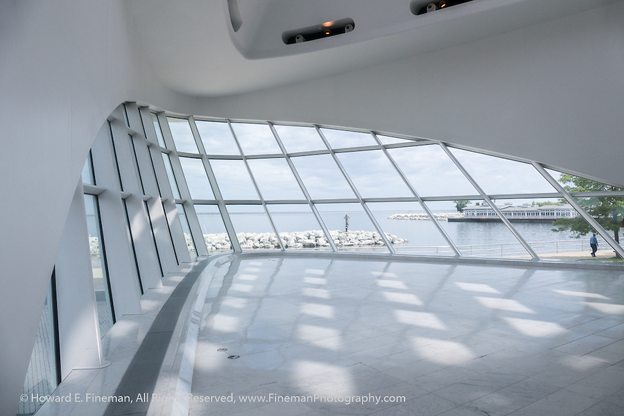 Musings On Calatrava Design 1, Milwaukee Art Museum