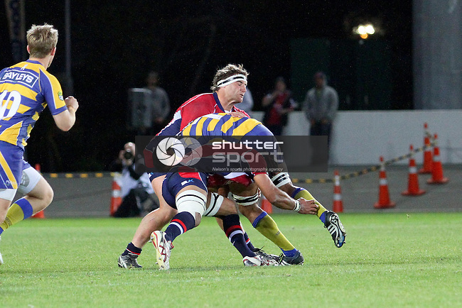 Tasman Makos v BOP Steamers, ITM Cup, 4 October 2012, Trafalgar Park, Nelson, New Zealand<br /> Photo: Marc Palmano/shuttersport.co.nz
