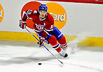 14 December 2009: Montreal Canadiens' left wing forward Mike Cammalleri in second period action against the Buffalo Sabres at the Bell Centre in Montreal, Quebec, Canada. The Sabres defeated the Canadiens 4-3. Mandatory Credit: Ed Wolfstein Photo