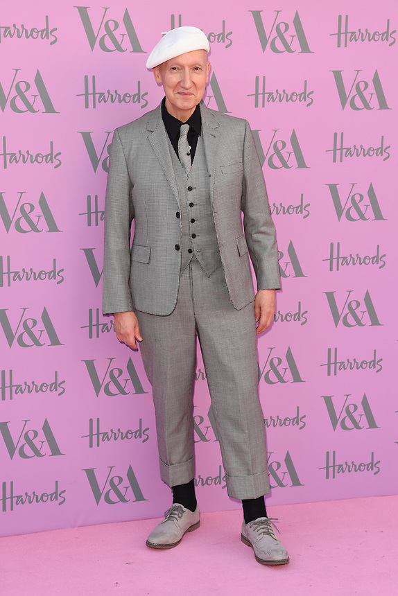Stephen Jones<br /> arriving for the V&A Summer Party 2018, London<br /> <br /> ©Ash Knotek  D3410  20/06/2018
