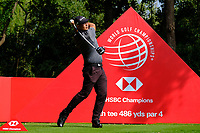 Yechun Yuan (CHN) during the 1st round at the WGC HSBC Champions 2018, Sheshan Golf CLub, Shanghai, China. 25/10/2018.<br /> Picture Phil Inglis / Golffile.ie<br /> <br /> All photo usage must carry mandatory copyright credit (&copy; Golffile | Phil Inglis)