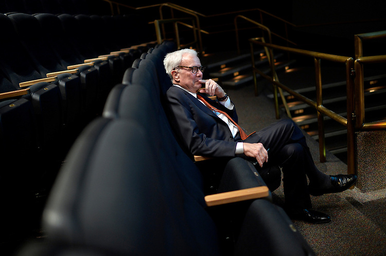 "UNITED STATES - MAY 19: Tom Brokaw waits to speak during a panel discussion before a screening of ""D-Day 3D: Normandy 1944,"" which he narrated, at the IMAX theater in the the Smithsonian Air and Space Museum, May, 19, 2014. (Photo By Tom Williams/CQ Roll Call)"