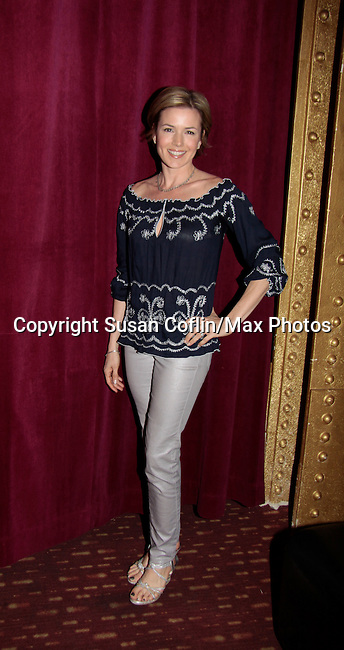 Nancy St. Alban - GL - 11th Annual Daytime Stars & Strikes Event for Autism - 2015 on April 19, 2015 hosted by Guiding Light's Jerry ver Dorn (& OLTL) and Liz Keifer at Bowlmor Lanes Times Square, New York City, New York. (Photos by Sue Coflin/Max Photos)