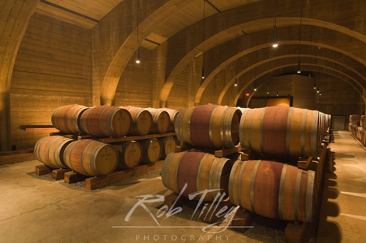 NA; Canada; British Columbia; Okanagan Valley; Westbank; Mission Hill Estate Winery Wine Cellar