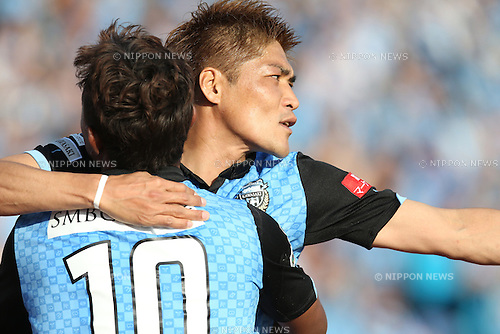 Yoshito Okubo (Frontale), <br /> MAY 10, 2014 - Football /Soccer : <br /> 2014 J.LEAGUE Division 1 <br /> between Kawasaki Frontale 4-1 Kashima Antlers <br /> at Kawasaki Todoroki Stadium, Kanagawa, Japan. <br /> (Photo by AFLO SPORT) [1205]
